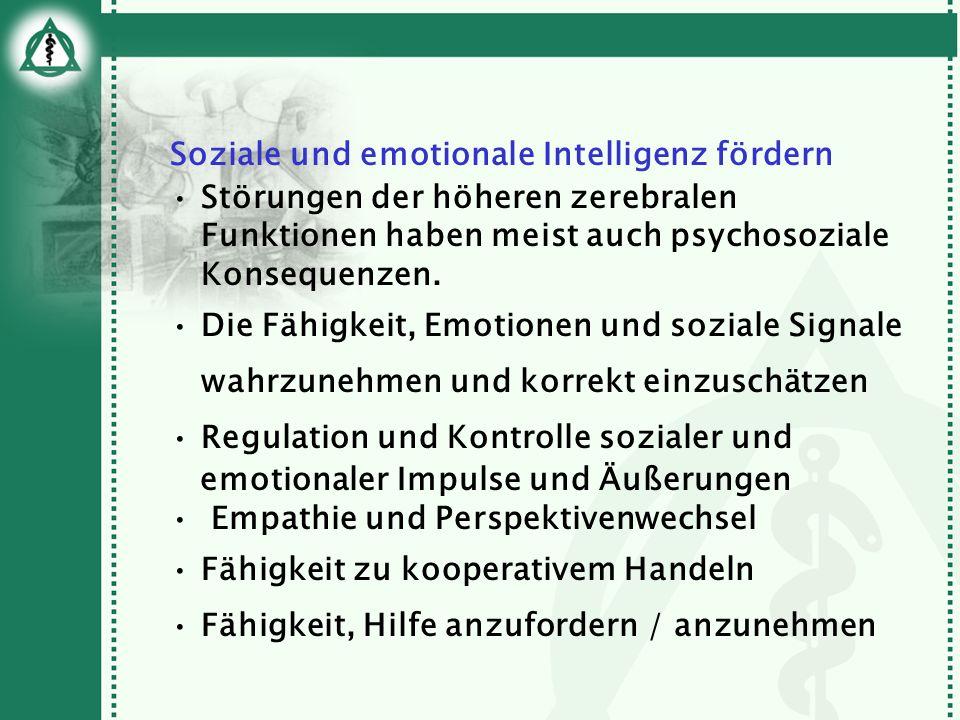 Soziale und emotionale Intelligenz fördern