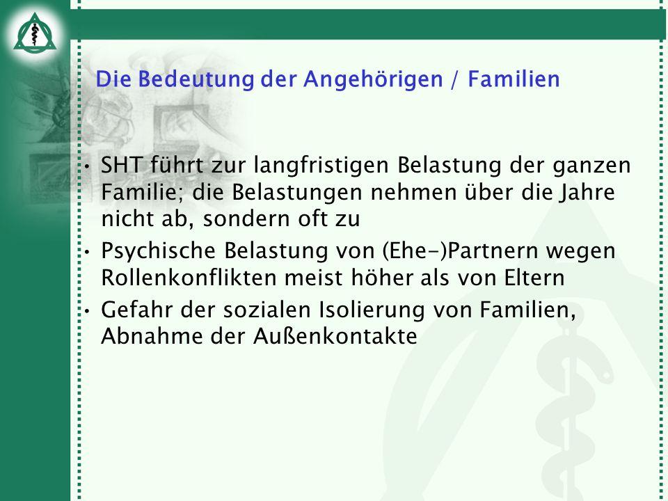 Die Bedeutung der Angehörigen / Familien