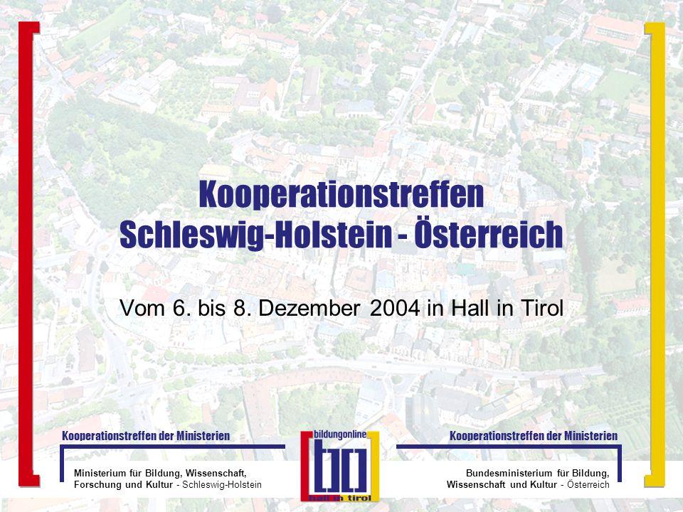 Kooperationstreffen Schleswig-Holstein - Österreich