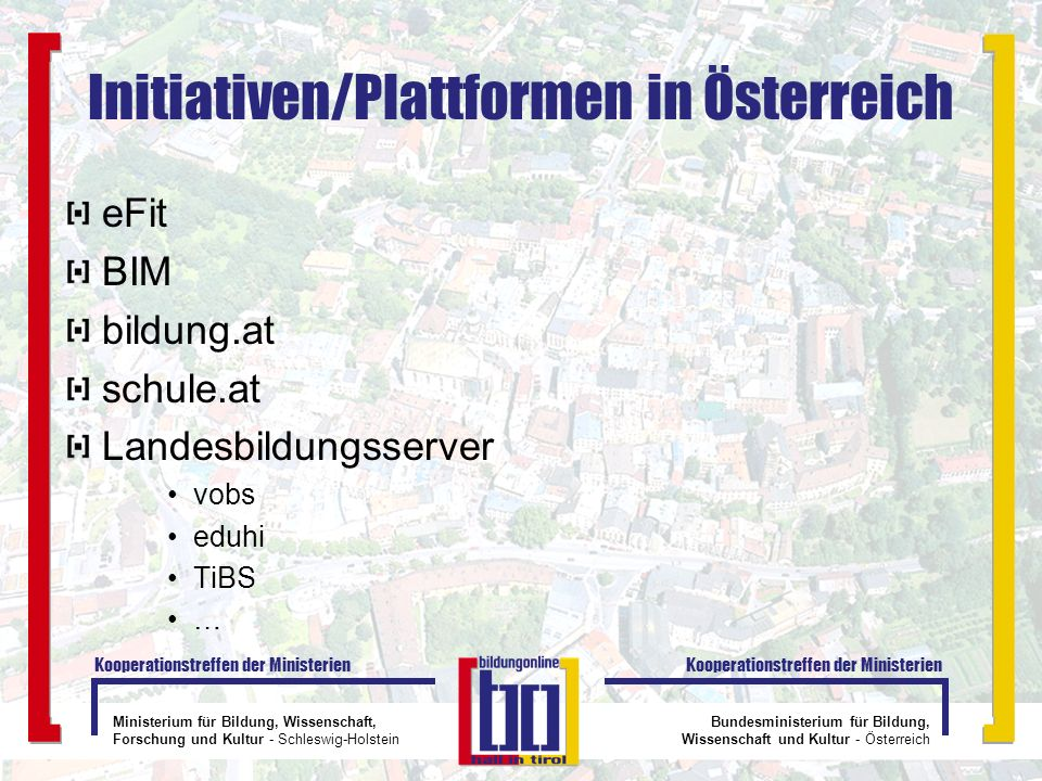 Initiativen/Plattformen in Österreich