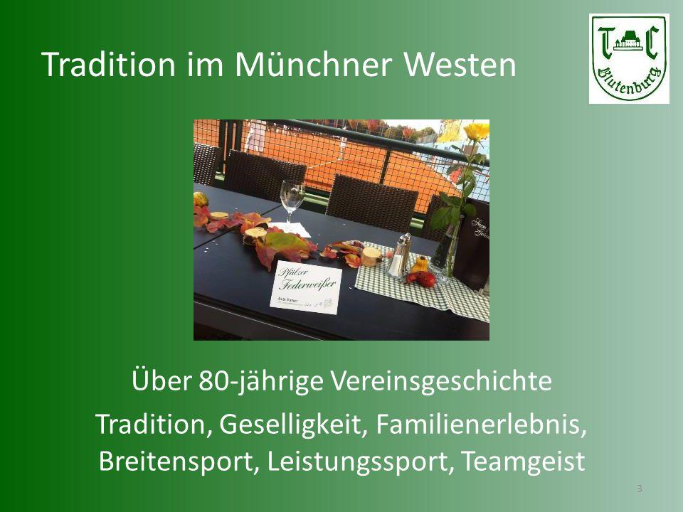 Tradition im Münchner Westen