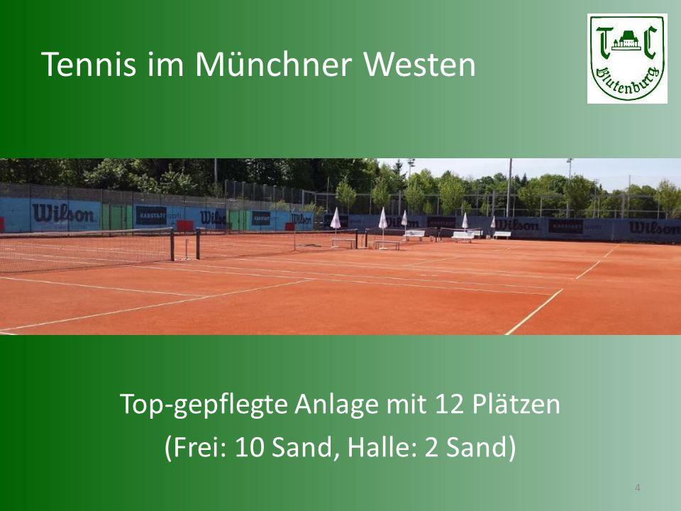 Tennis im Münchner Westen