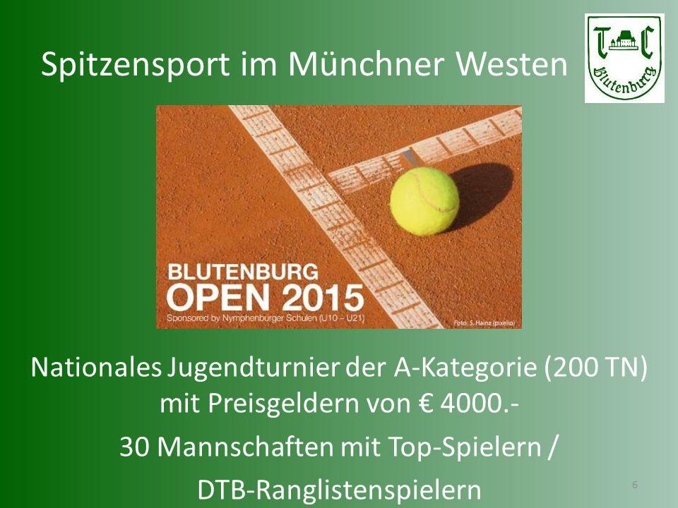 Spitzensport im Münchner Westen
