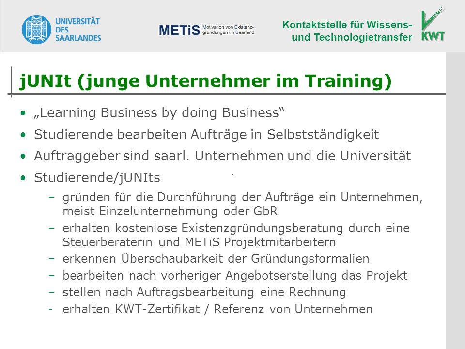 jUNIt (junge Unternehmer im Training)
