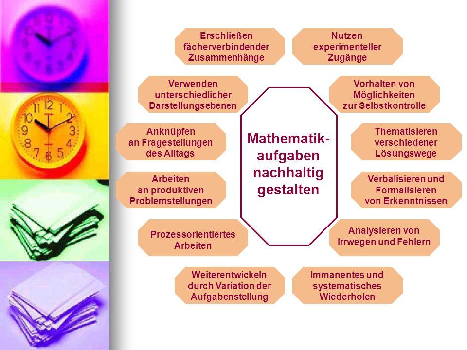 Mathematik-aufgaben nachhaltig gestalten