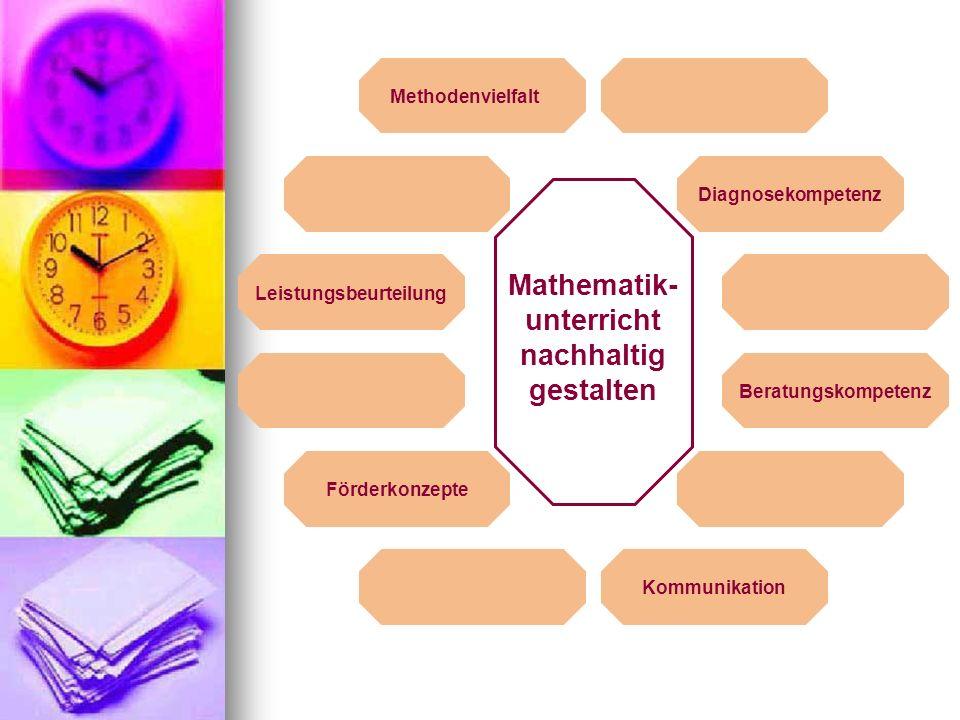 Mathematik-unterricht nachhaltig gestalten Leistungsbeurteilung