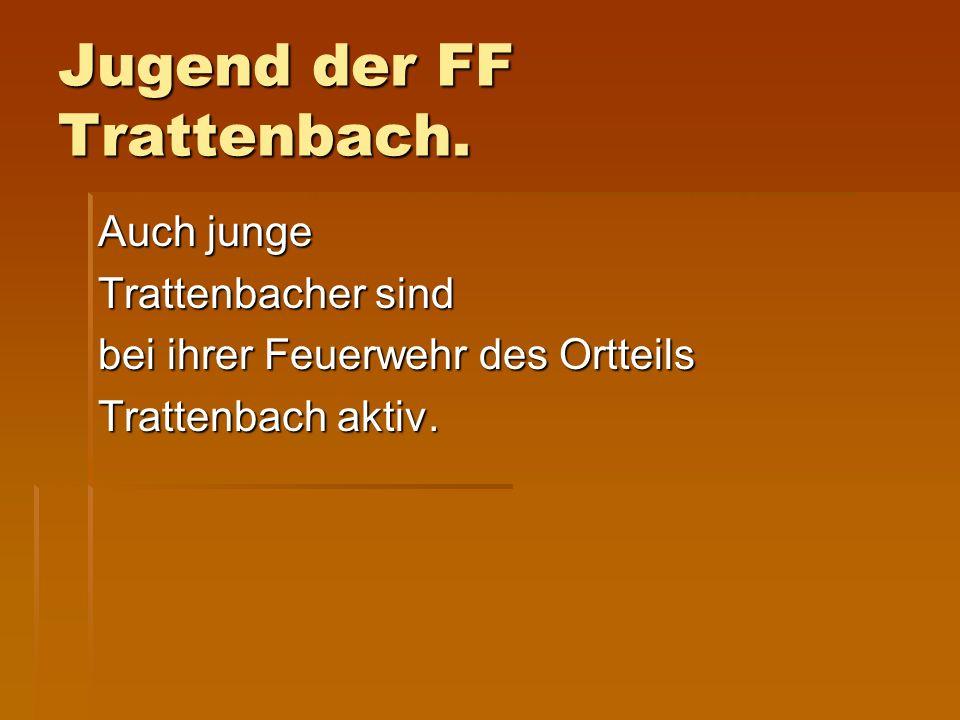 Jugend der FF Trattenbach.