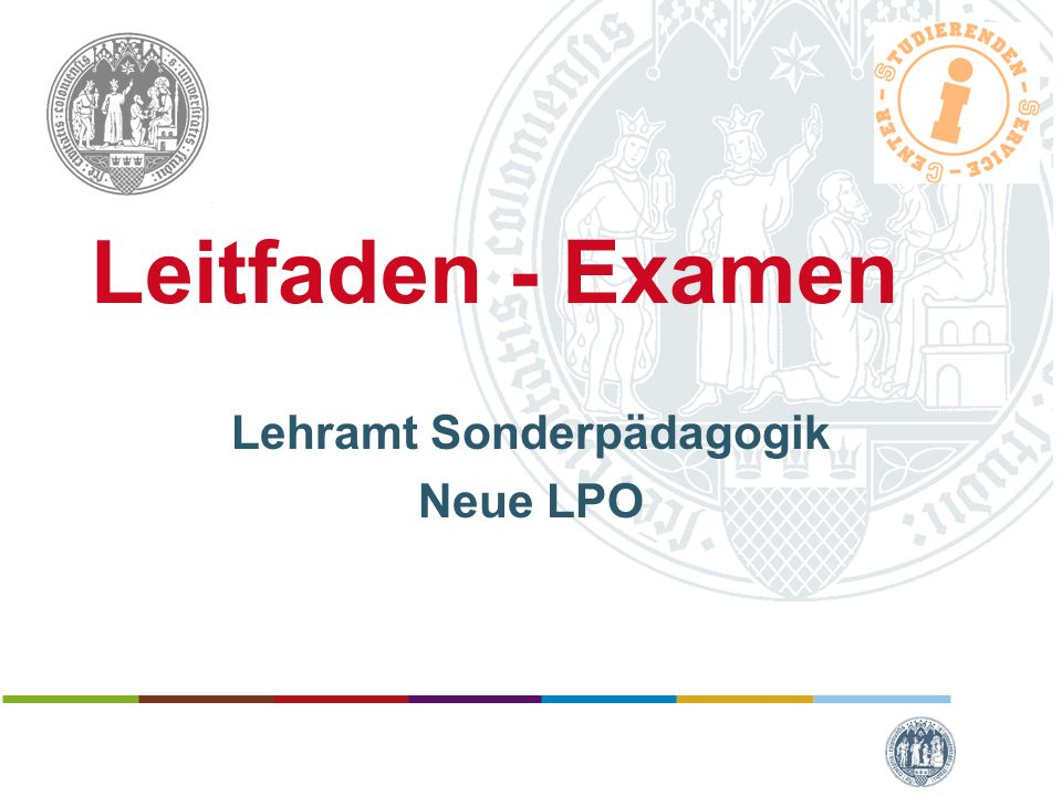 Lehramt Sonderpädagogik Neue LPO