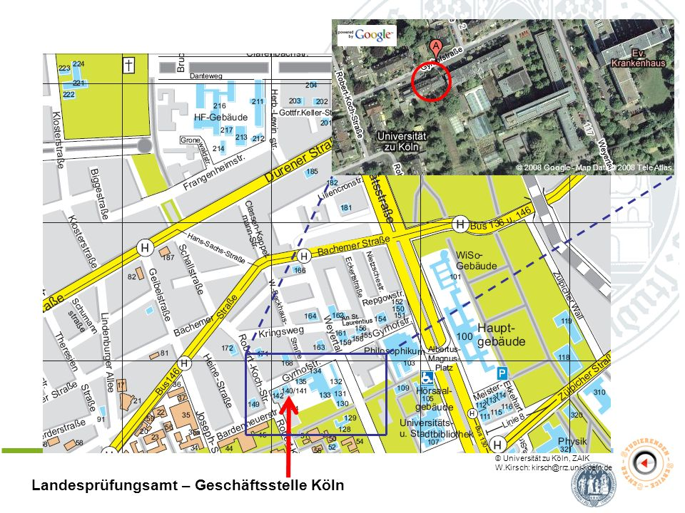 Landesprüfungsamt – Geschäftsstelle Köln