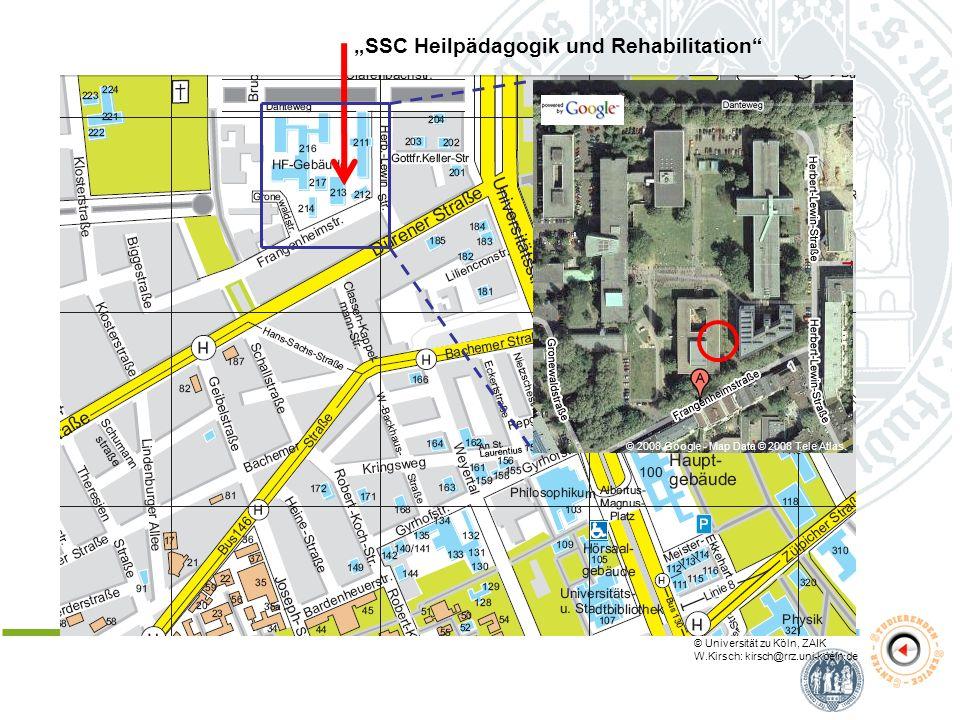 """SSC Heilpädagogik und Rehabilitation"