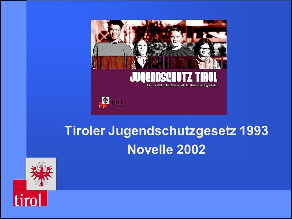 Tiroler Jugendschutzgesetz 1993