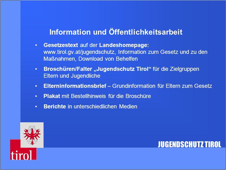 Information und Öffentlichkeitsarbeit