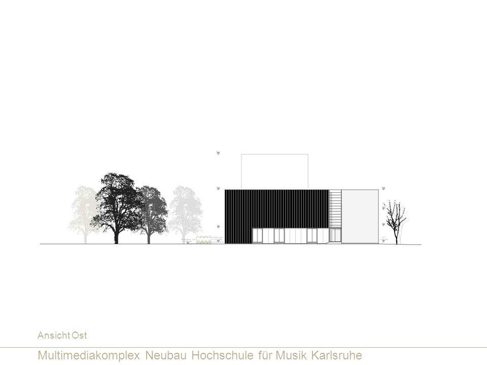 Multimediakomplex Neubau Hochschule für Musik Karlsruhe
