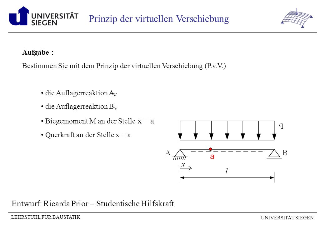 Entwurf: Ricarda Prior – Studentische Hilfskraft