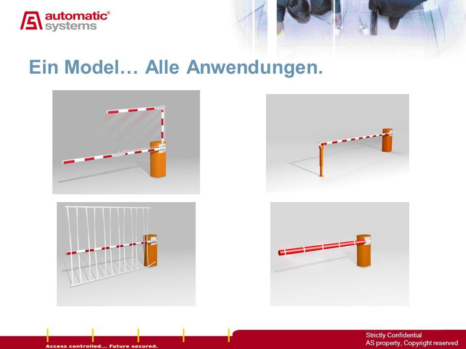 Ein Model… Alle Anwendungen.