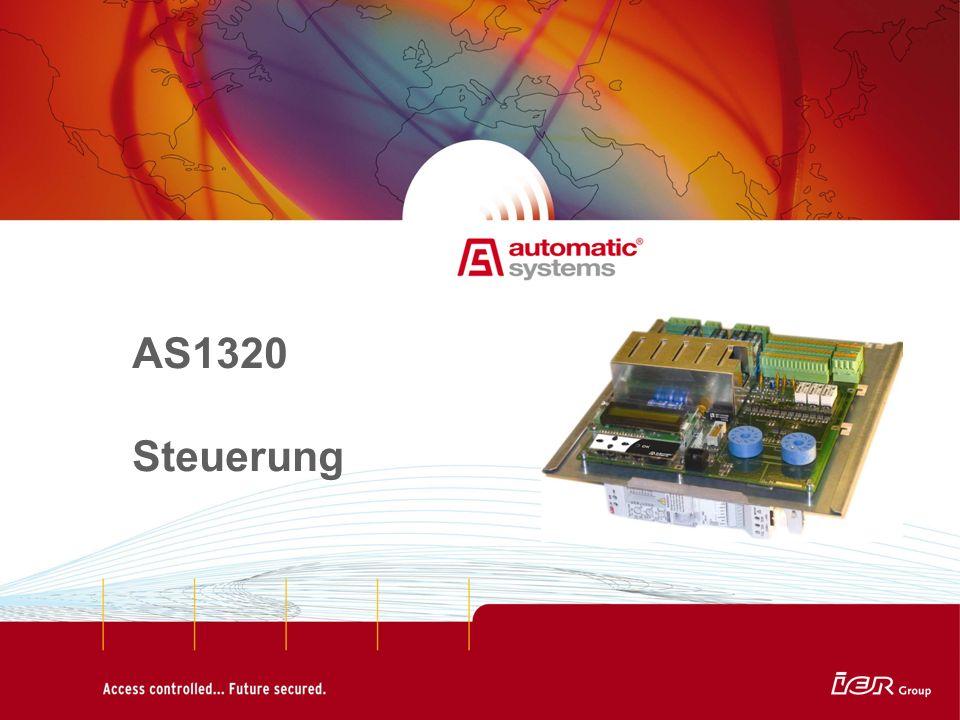 AS1320 Steuerung