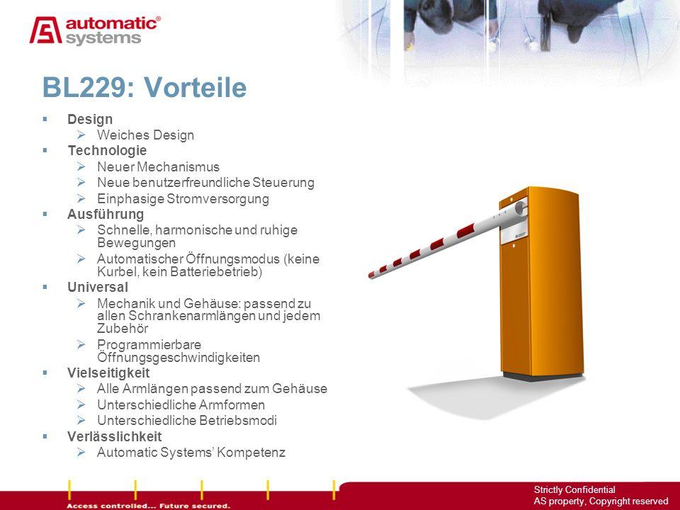 BL229: Vorteile Design Weiches Design Technologie Neuer Mechanismus