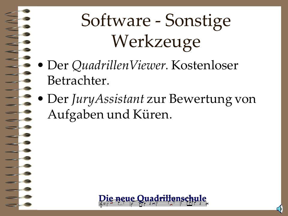 Software - Sonstige Werkzeuge