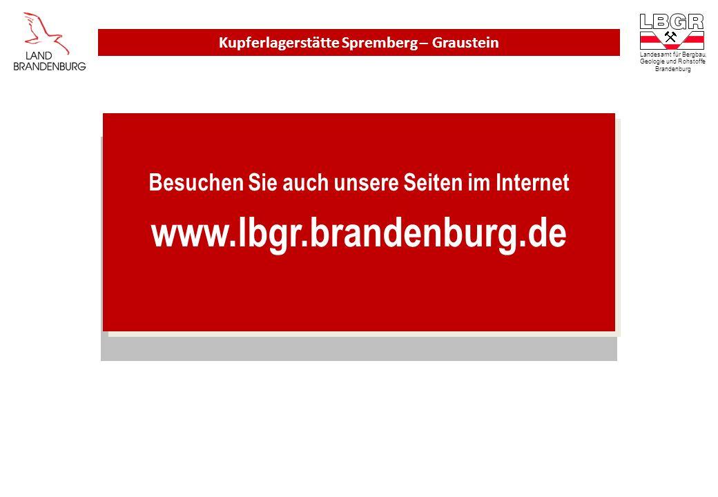 www.lbgr.brandenburg.de Besuchen Sie auch unsere Seiten im Internet