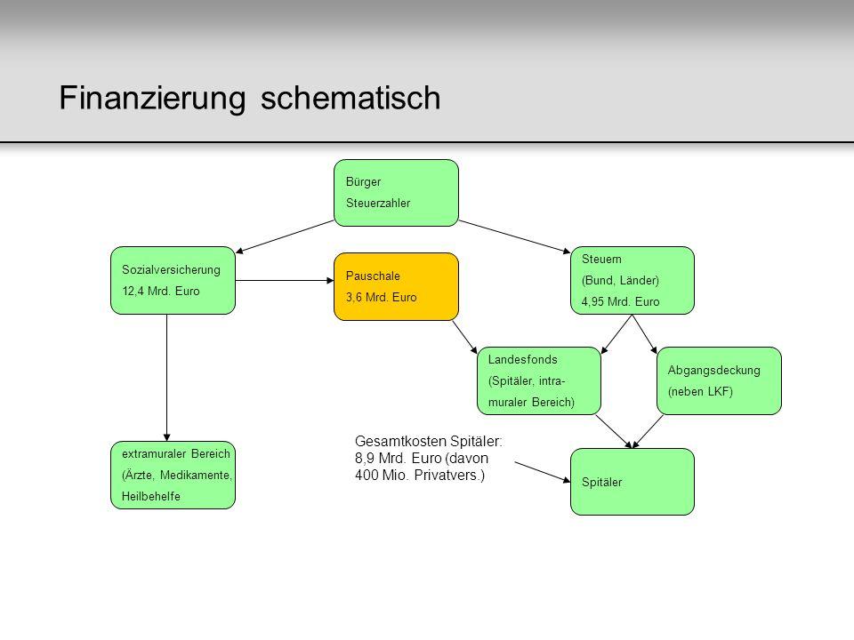 Finanzierung schematisch