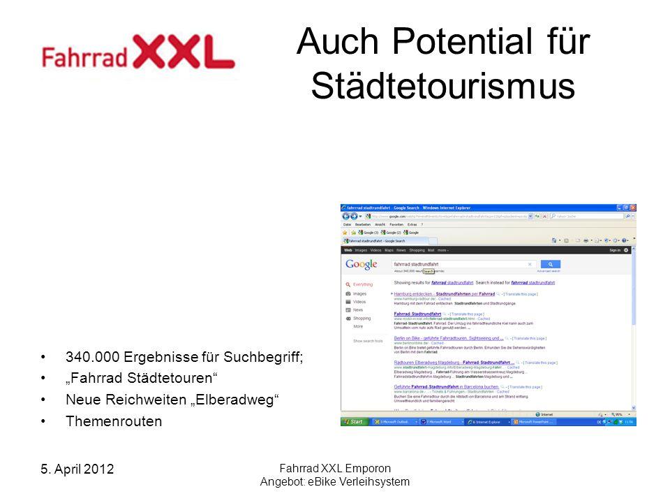 Auch Potential für Städtetourismus