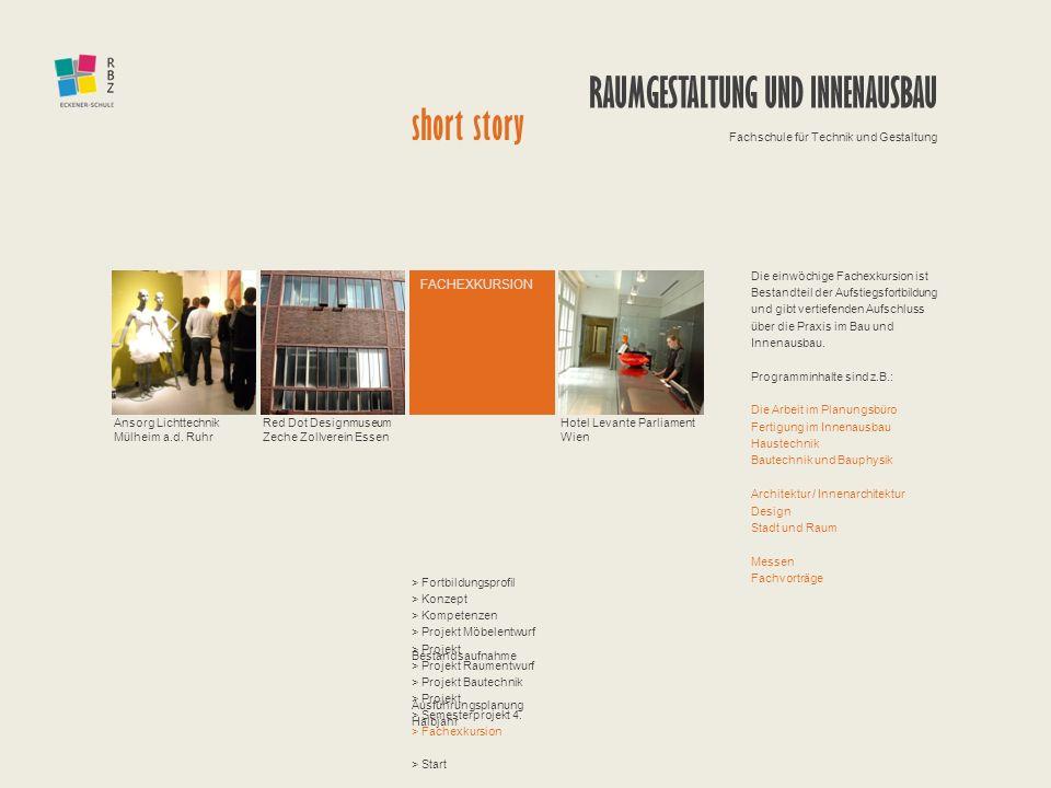 Raumgestaltung und innenausbau short story ppt herunterladen for Raumgestaltung einzelhandel