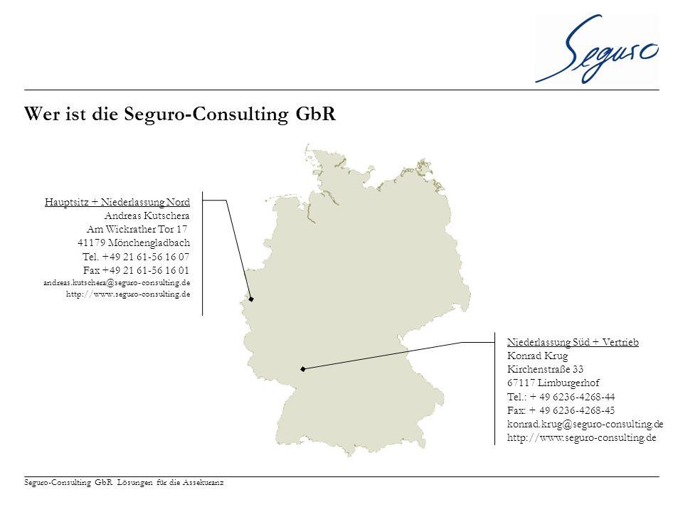 Wer ist die Seguro-Consulting GbR