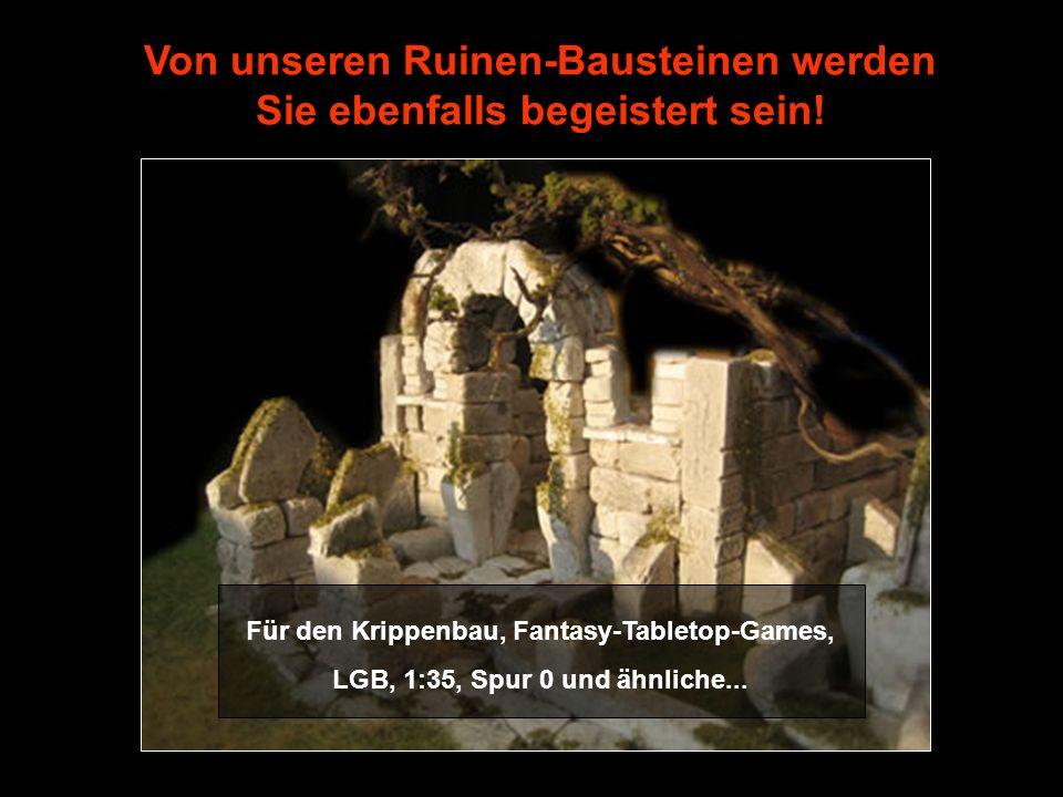 Von unseren Ruinen-Bausteinen werden Sie ebenfalls begeistert sein!