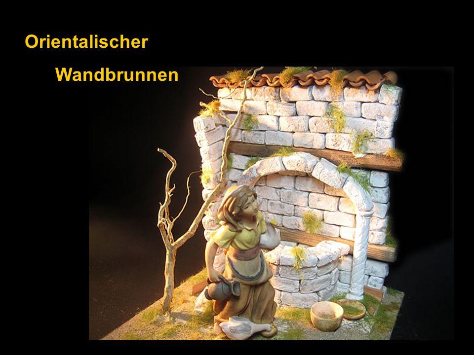 Orientalischer Wandbrunnen
