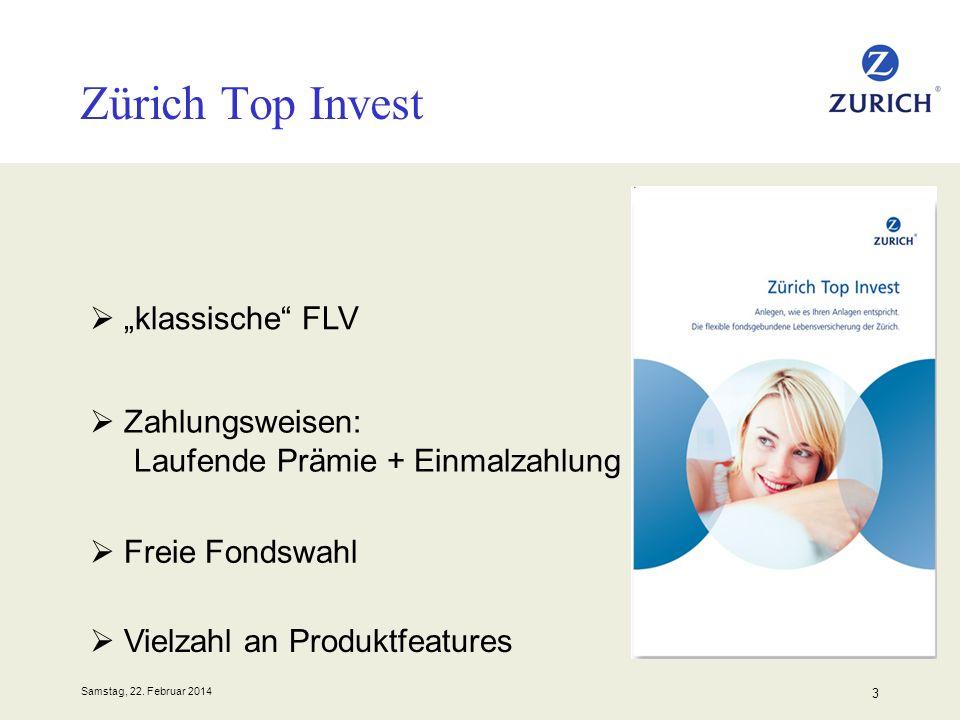 """Zürich Top Invest """"klassische FLV"""