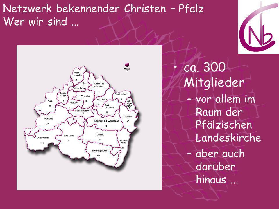 Netzwerk bekennender Christen – Pfalz Wer wir sind ...