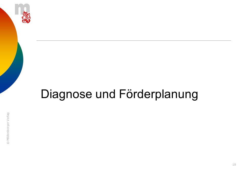 Diagnose und Förderplanung