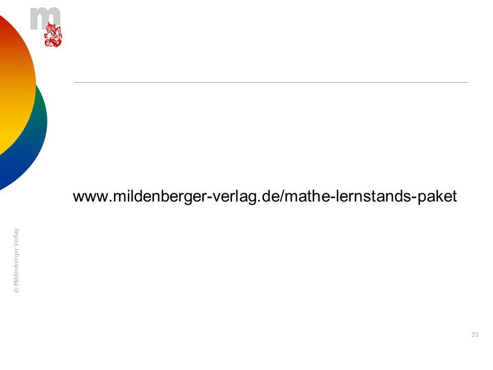 www.mildenberger-verlag.de/mathe-lernstands-paket
