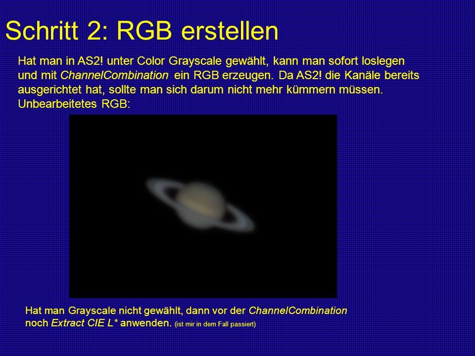 Schritt 2: RGB erstellen