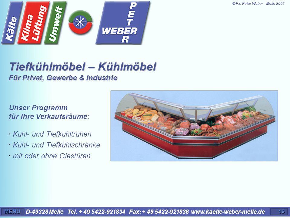Tiefkühlmöbel – Kühlmöbel Für Privat, Gewerbe & Industrie