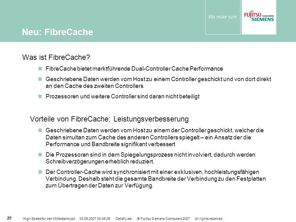 Neu: FibreCache Was ist FibreCache