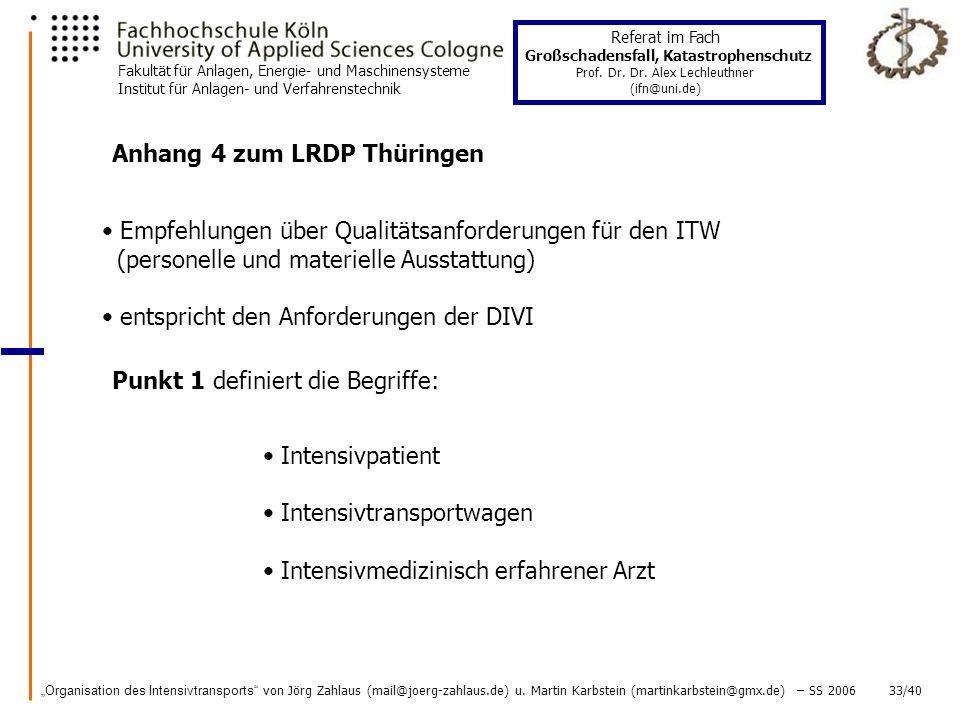 Anhang 4 zum LRDP Thüringen