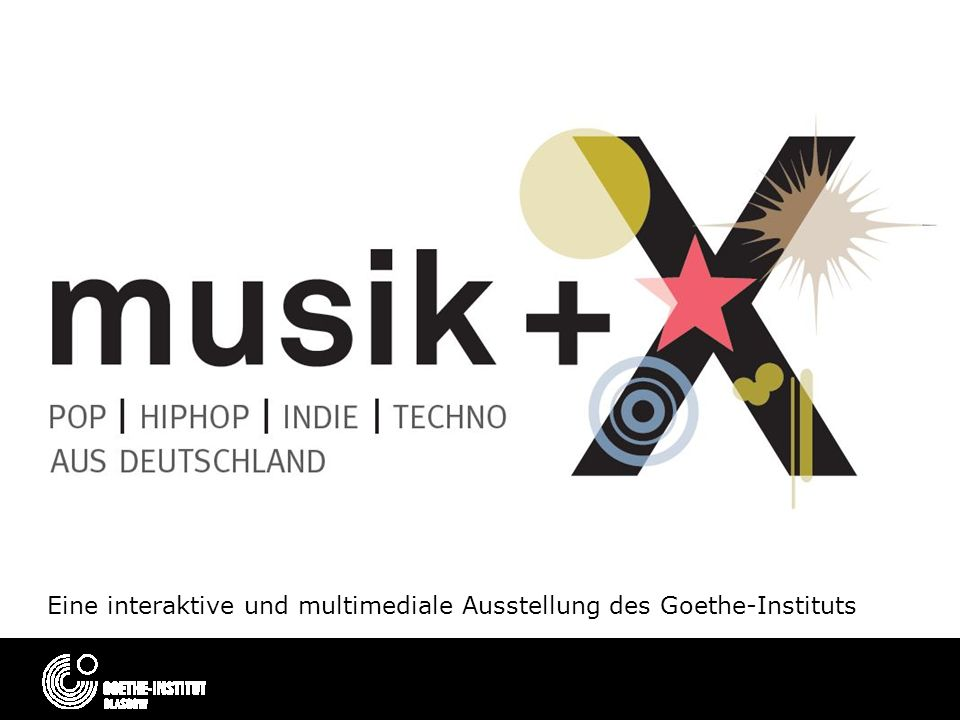 Eine interaktive und multimediale Ausstellung des Goethe-Instituts
