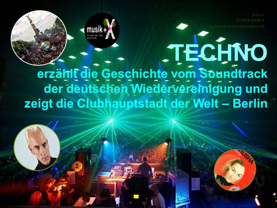 TECHNO erzählt die Geschichte vom Soundtrack der deutschen Wiedervereinigung und zeigt die Clubhauptstadt der Welt – Berlin