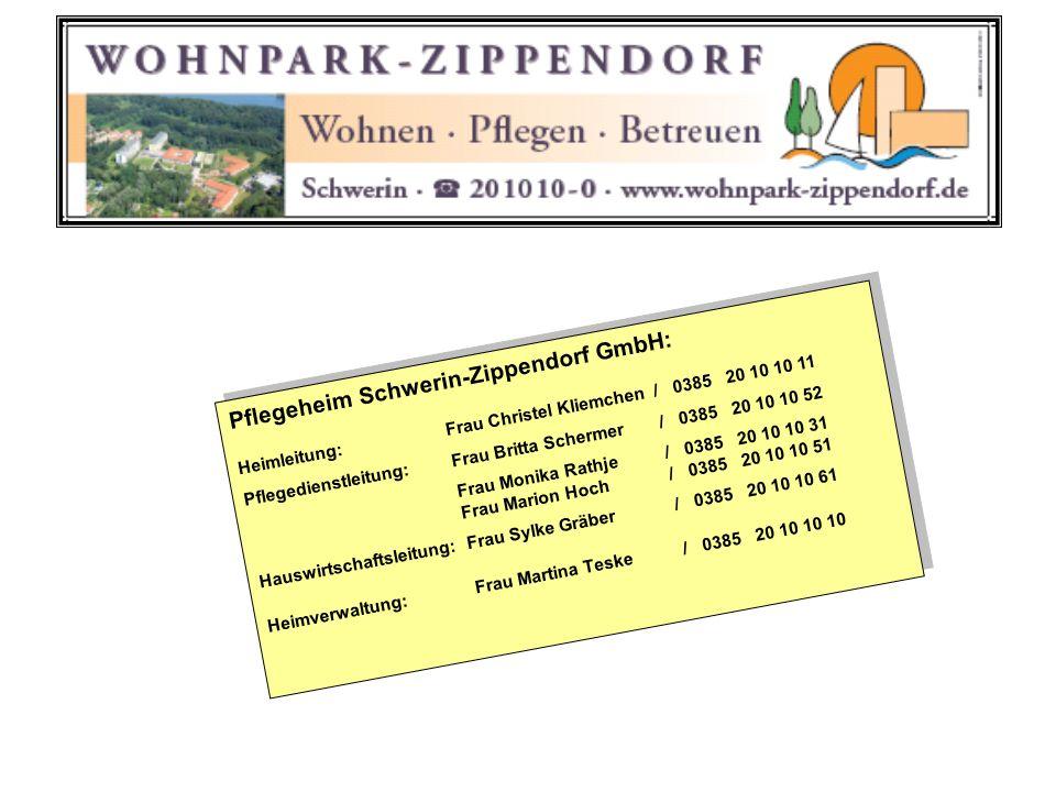 Pflegeheim Schwerin-Zippendorf GmbH: