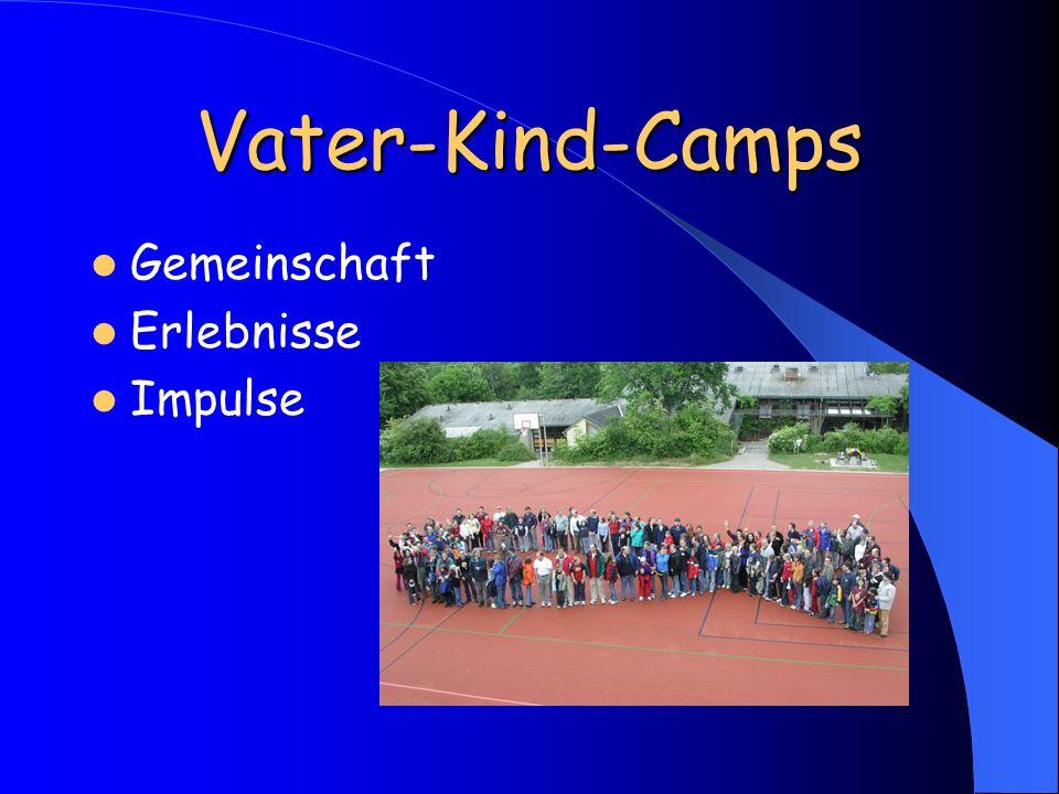 Vater-Kind-Camps Gemeinschaft Erlebnisse Impulse