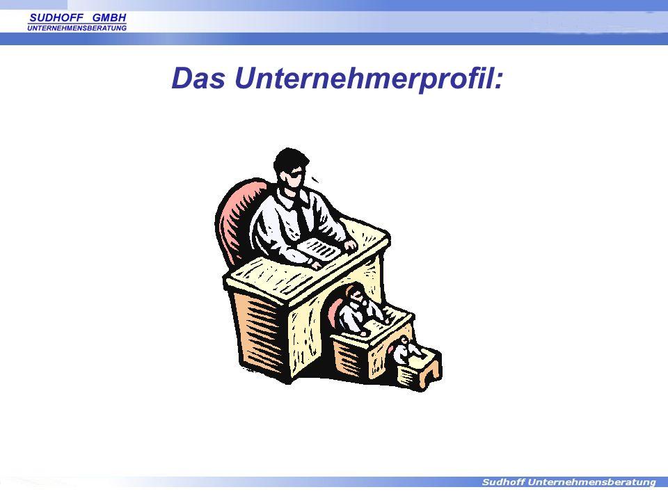 Das Unternehmerprofil: