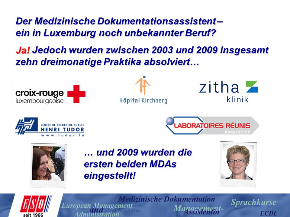 Der Medizinische Dokumentationsassistent –