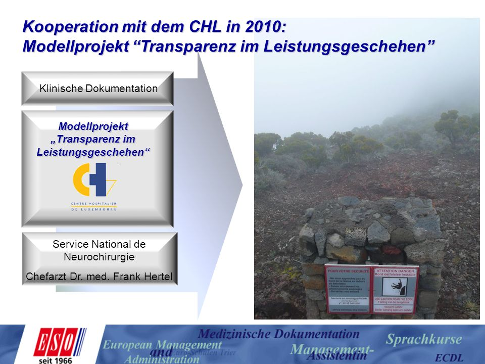 Kooperation mit dem CHL in 2010: