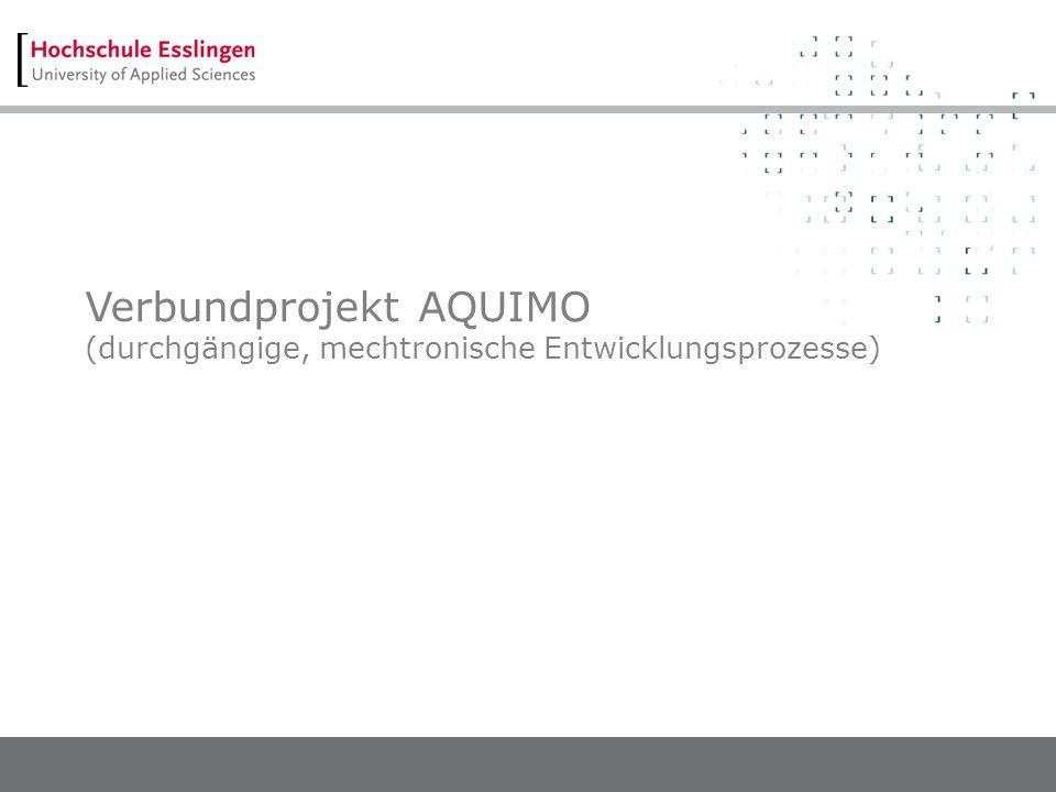 Verbundprojekt AQUIMO