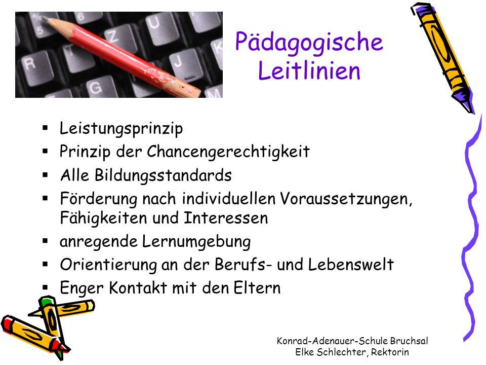 Pädagogische Leitlinien