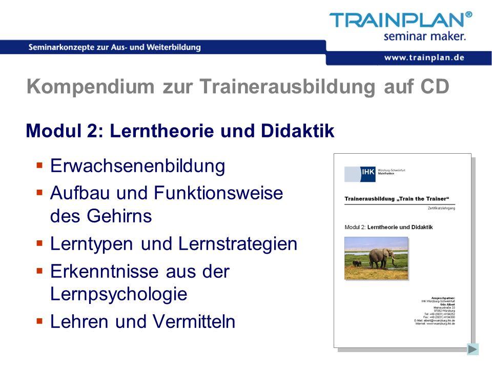 Kompendium zur Trainerausbildung auf CD