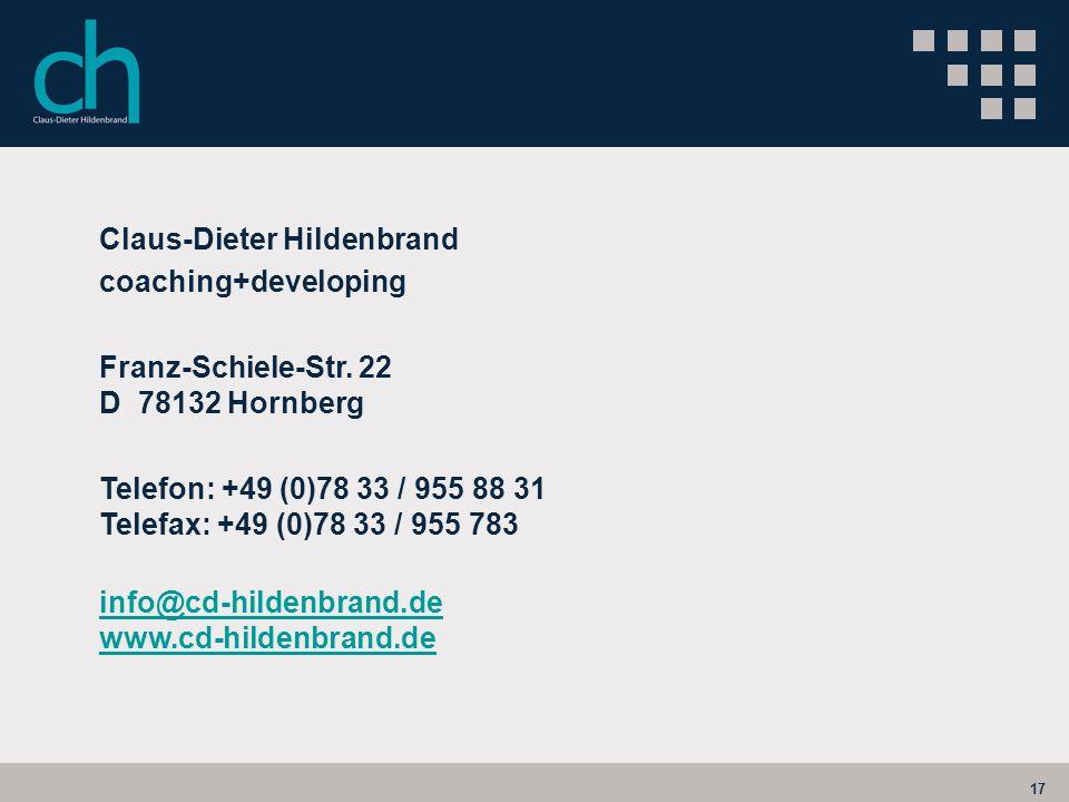 Claus-Dieter Hildenbrand