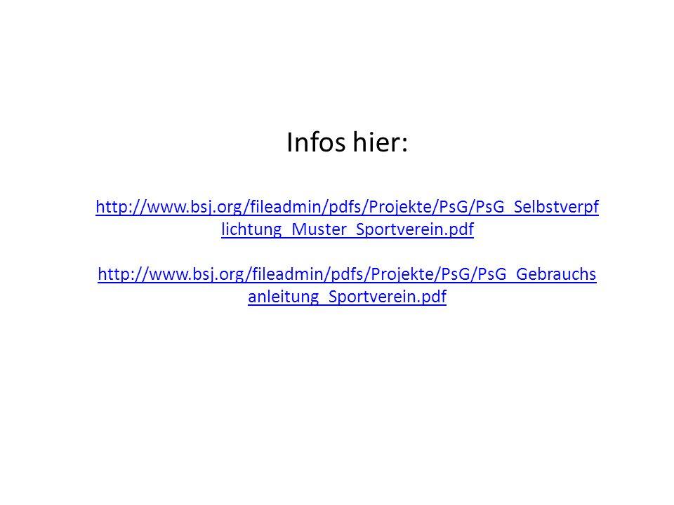 Infos hier: http://www.bsj.org/fileadmin/pdfs/Projekte/PsG/PsG_Selbstverpflichtung_Muster_Sportverein.pdf.