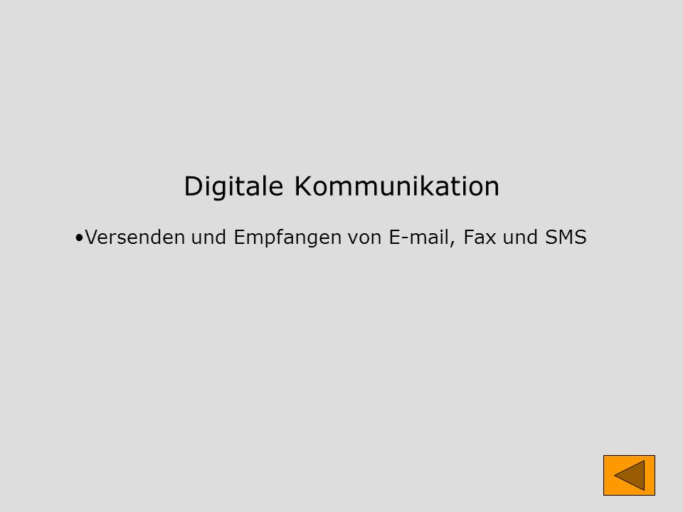 Digitale Kommunikation